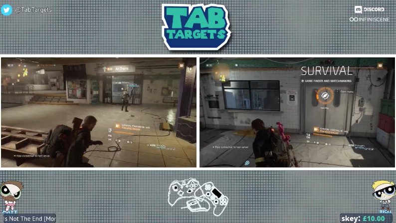 Watch the TabTargets stream