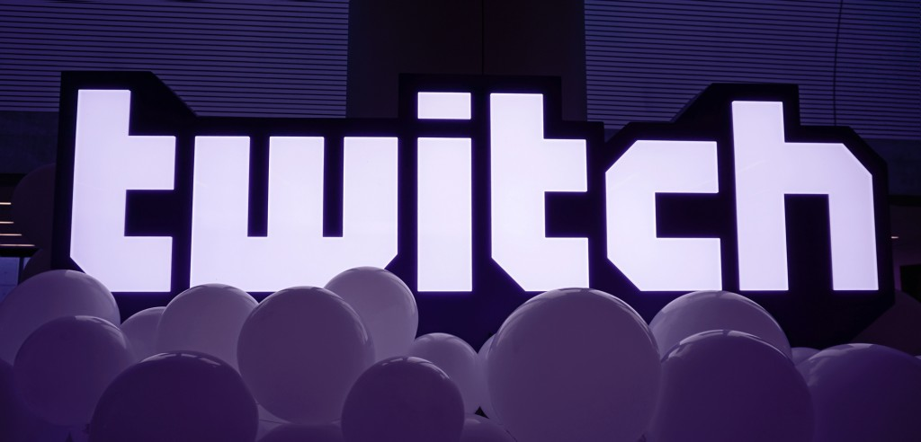 Twitch signage at Twitchcon 2018
